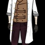 Der Mann im weißen Mantel